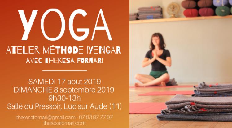 Yoga 17 aout 8 septembre
